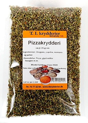 Pizza Krydderi 35 g