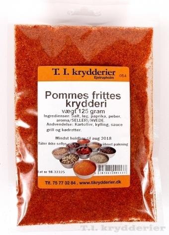 Pommes frits krydderi