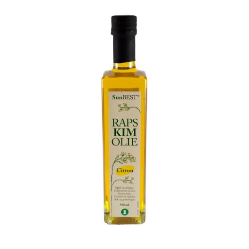 Rapskimolie m. citron 500 ml