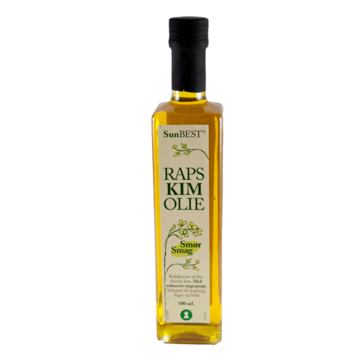 Rapskimolie m/smørsmag 500 ml