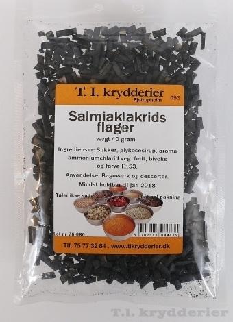 Krymmel Salmiak flager 40 g