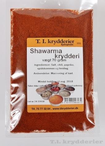 Shawarma krydderi