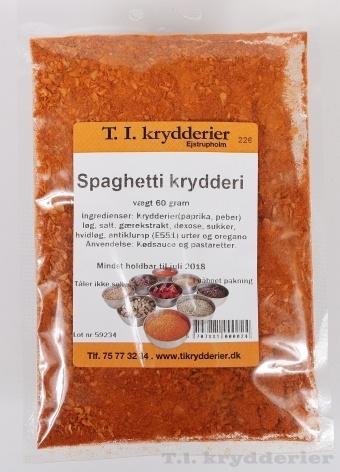 Spaghetti krydderi