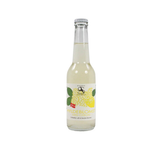 Staarup – Hyldeblomst med Citron – Drikkeklar saft – 27,5 cl.
