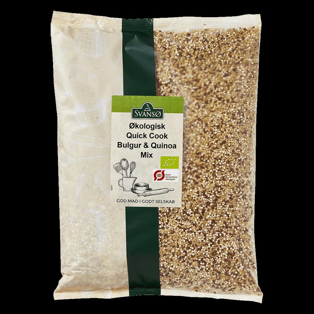 Svansø Økologisk Quick Cook Bulgur & Quinoa 1 kg