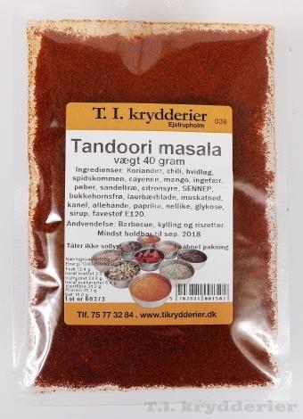 Tandoori masala 40 g