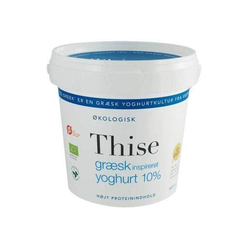 Thise Græsk Inspireret Yoghurt 10% 1kg