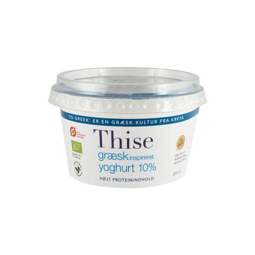 Thise Græsk Inspireret Yoghurt 10% 200g