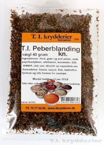 T.I. Peber bl. knust 30 g