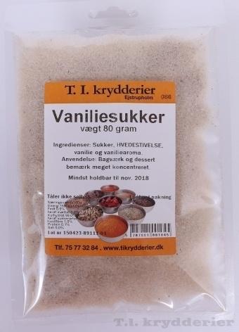 Vaniljesukker 70 g